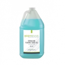 Body Revive Dermacare Foaming Shave Gel | 4 Gal/Cse