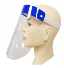 Disposable Face Shield w/ Foam Backing I 100 per case