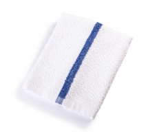 16X19 Bar Mop Blue Stripe 30oz