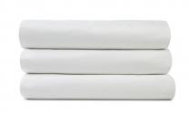 Queen Flat T200 white bed sheet