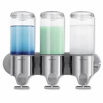 Triple Simplehuman Shower Dispenser