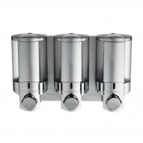 Aviva III Wall Mounted Dispenser - Satin Silver