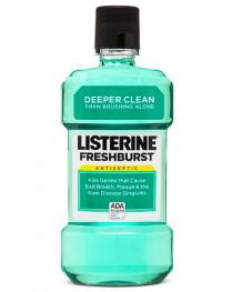 Listerine Mouthwash Fresh Burst 1L | 6/Cse