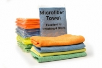 16 x 16 PREMIUM MICROFIBER TOWEL INDIVIDUALLY WRAPPED