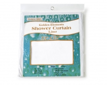 6x6 Shower Curtain Nylon White #SCNW760