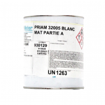 PRIAM 32005 MAT WHITE PA