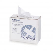 TuffStuff™ Wipes Polyester/cellulose critical task wipes