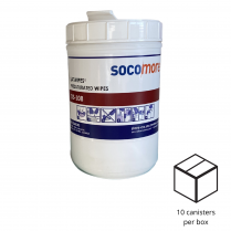 BOX OF 10 SMALL CANISTERS FOR SATWIPES DS-108