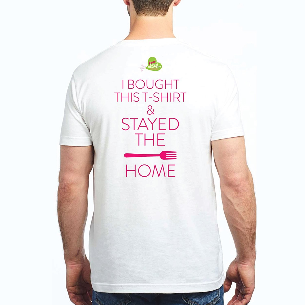 Stay the Fork Home T-shirt