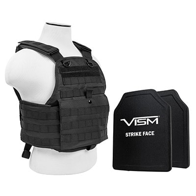 2924 Plate Carrier w/10X12 PE Hard Plates