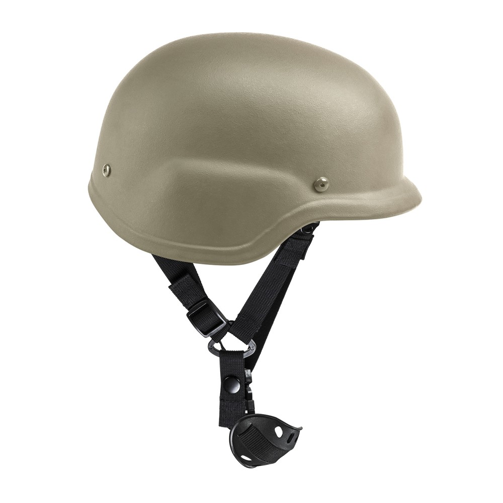 Hd Ballistic Helmet/Lg/Tan/Bag