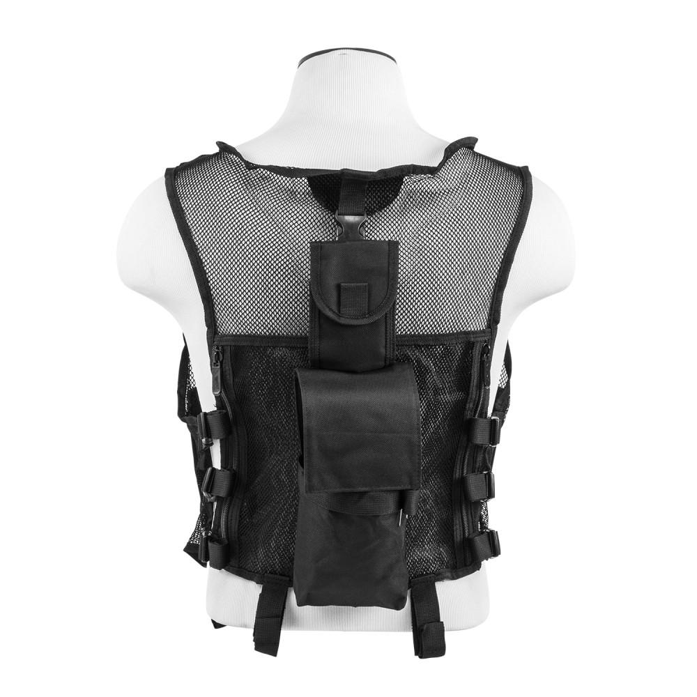 Mesh Tactical Vest/ SIM/ Blk