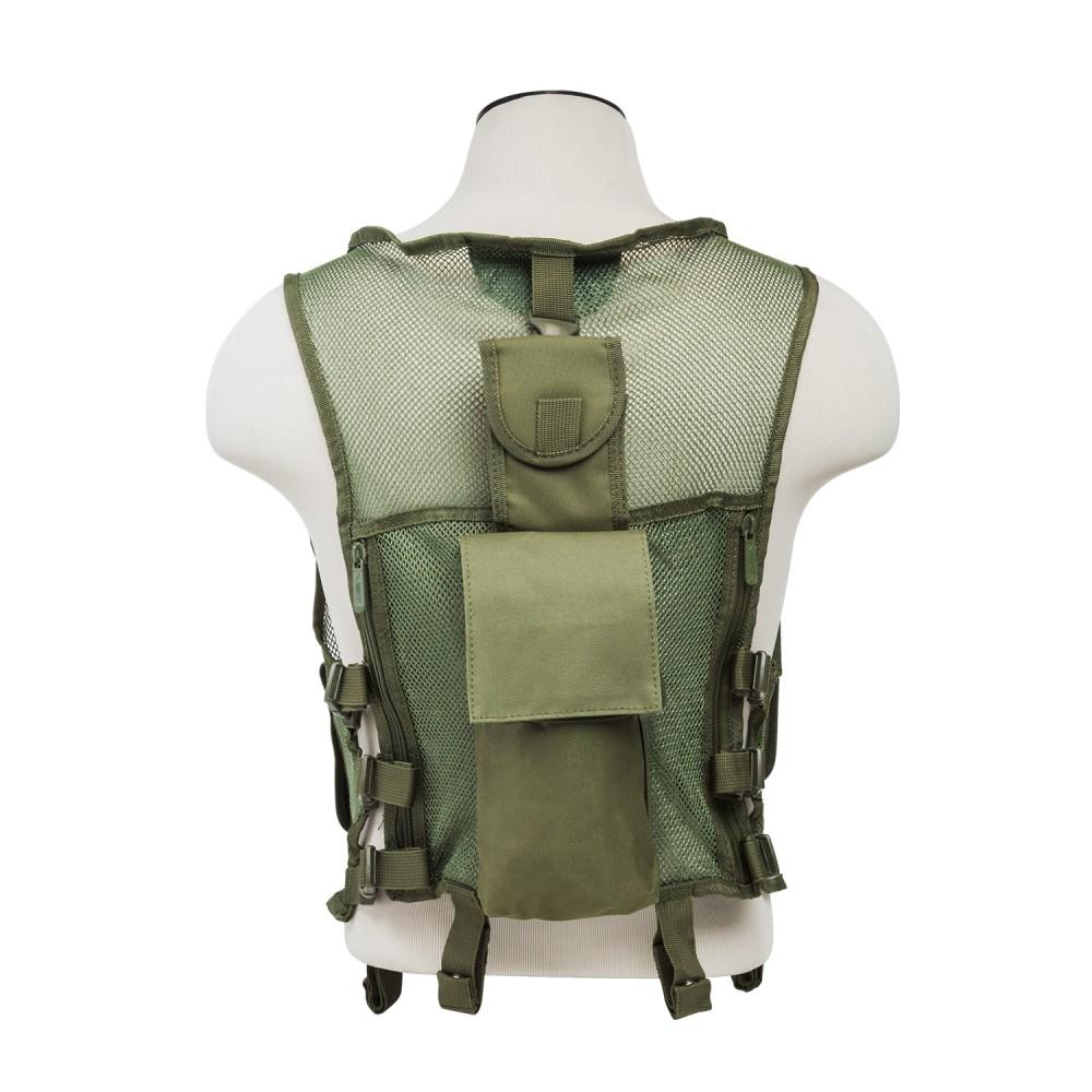 Mesh Tactical Vest/ SIM/ Grn
