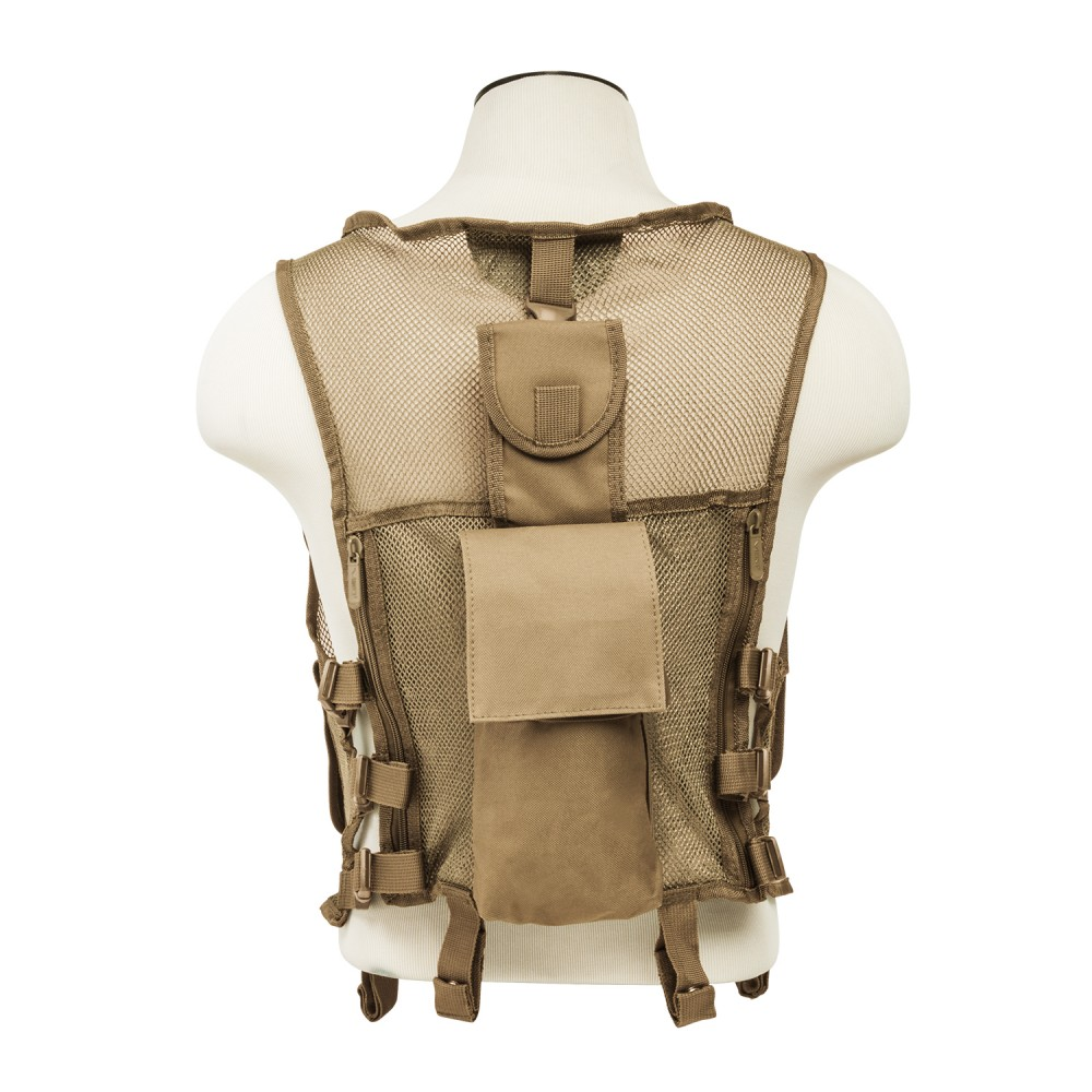 Mesh Tactical Vest/ SIM/ Tan