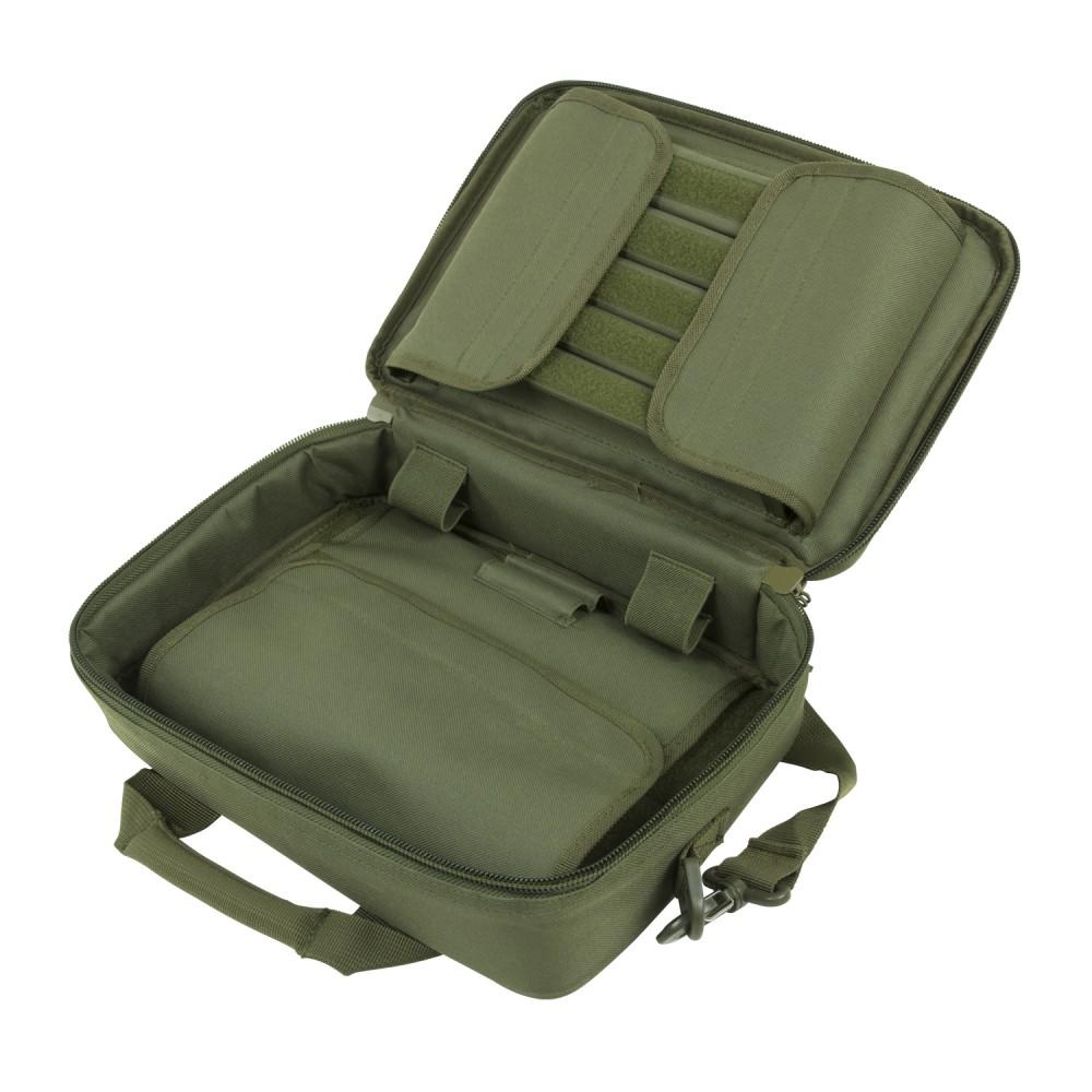 Deluxe Pistol Case/Green