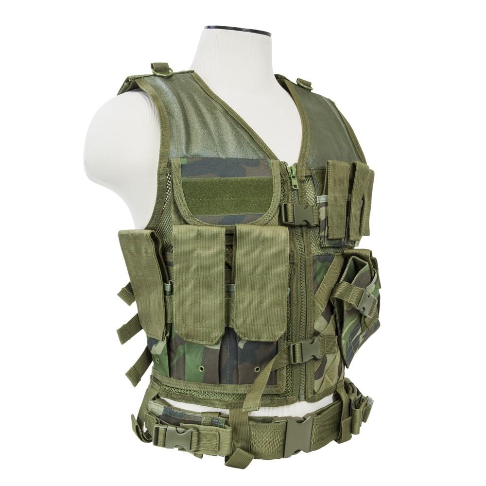 Tactical Vest/MED-2XL/WodCam