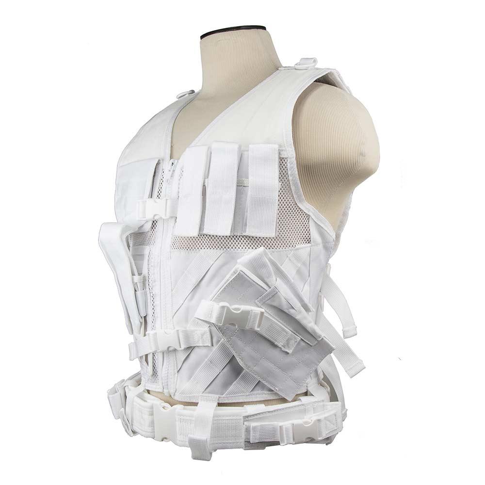 Tactical Vest/MED-2XL/White