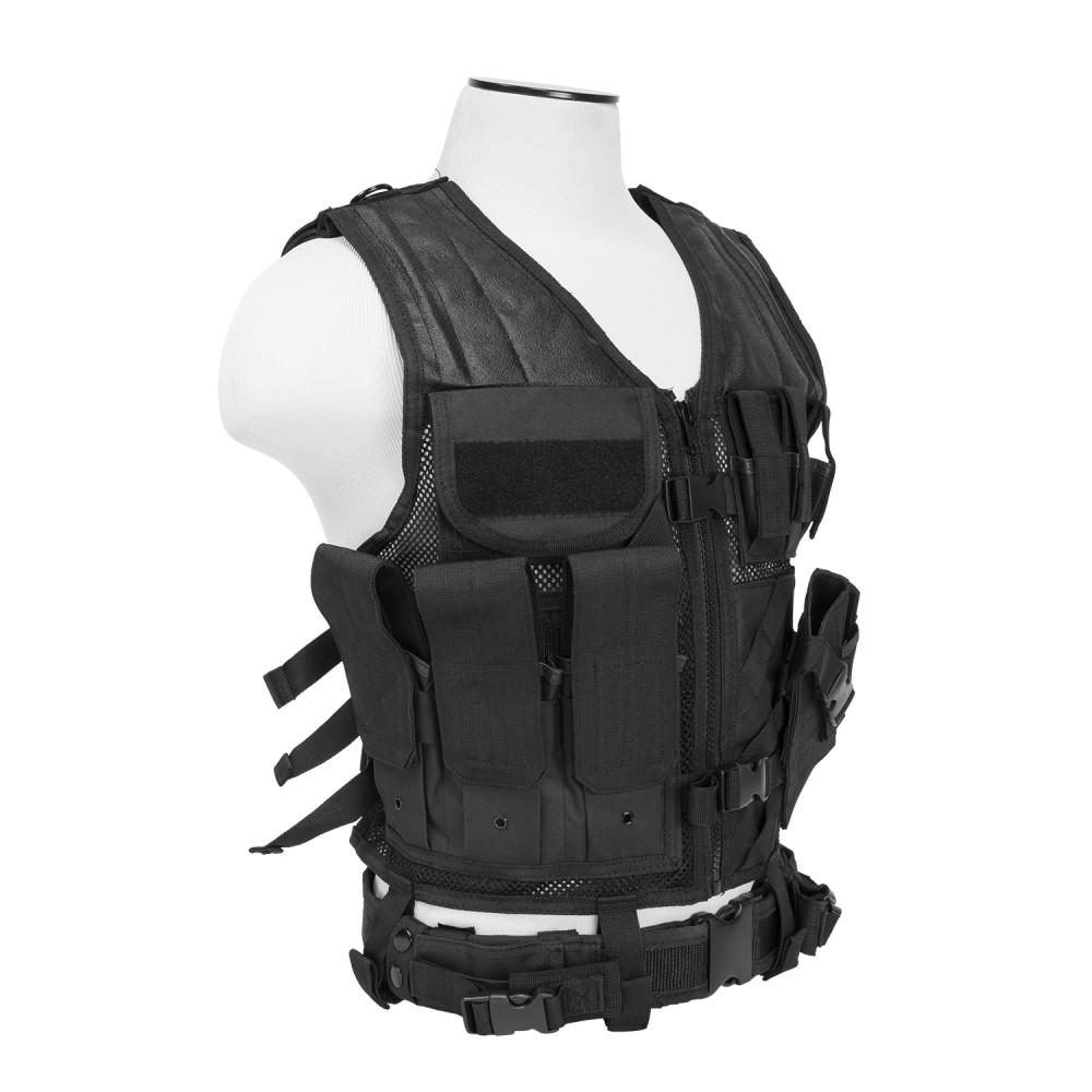 Tactical Vest/2XL+/Blk