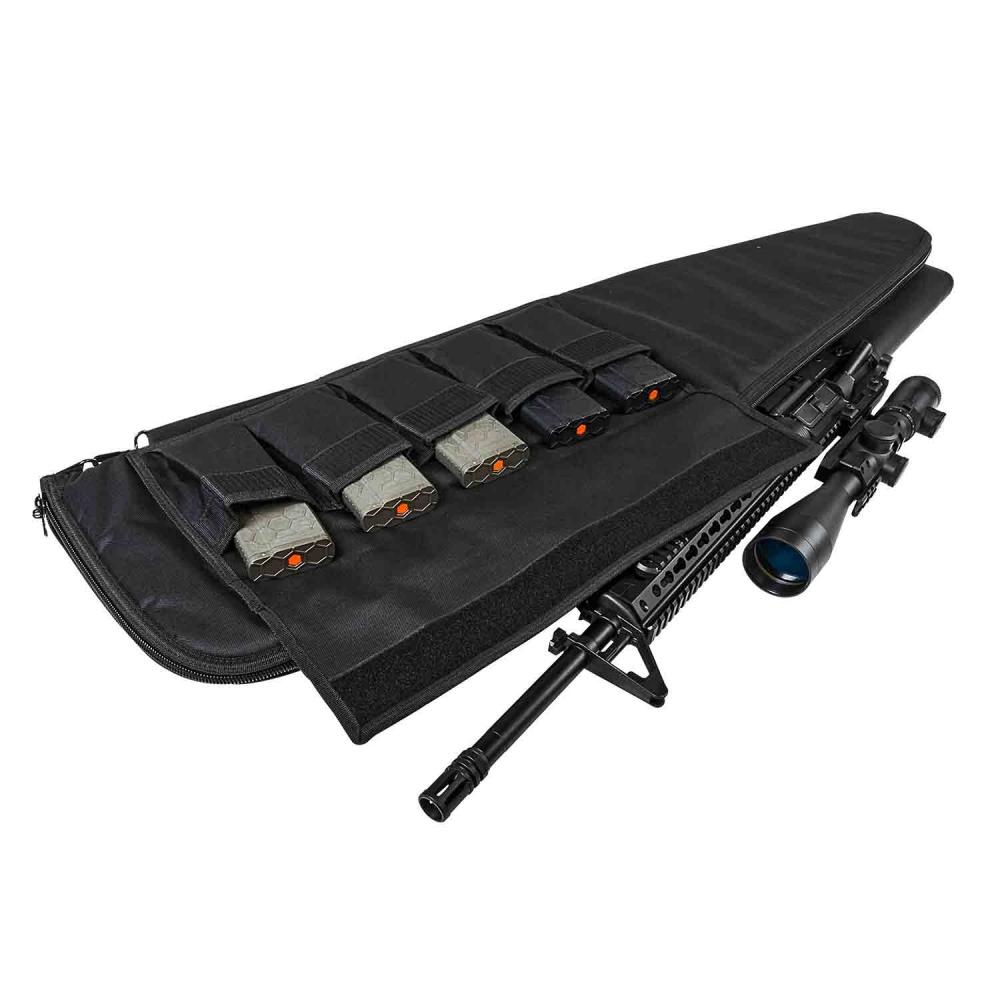 Gun Case/52inLx13inH/Blk