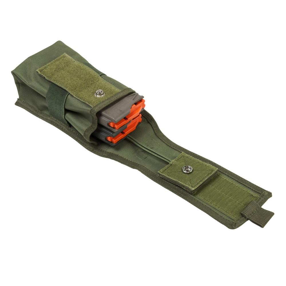 Double AR/AK/Radio Pouch-Green