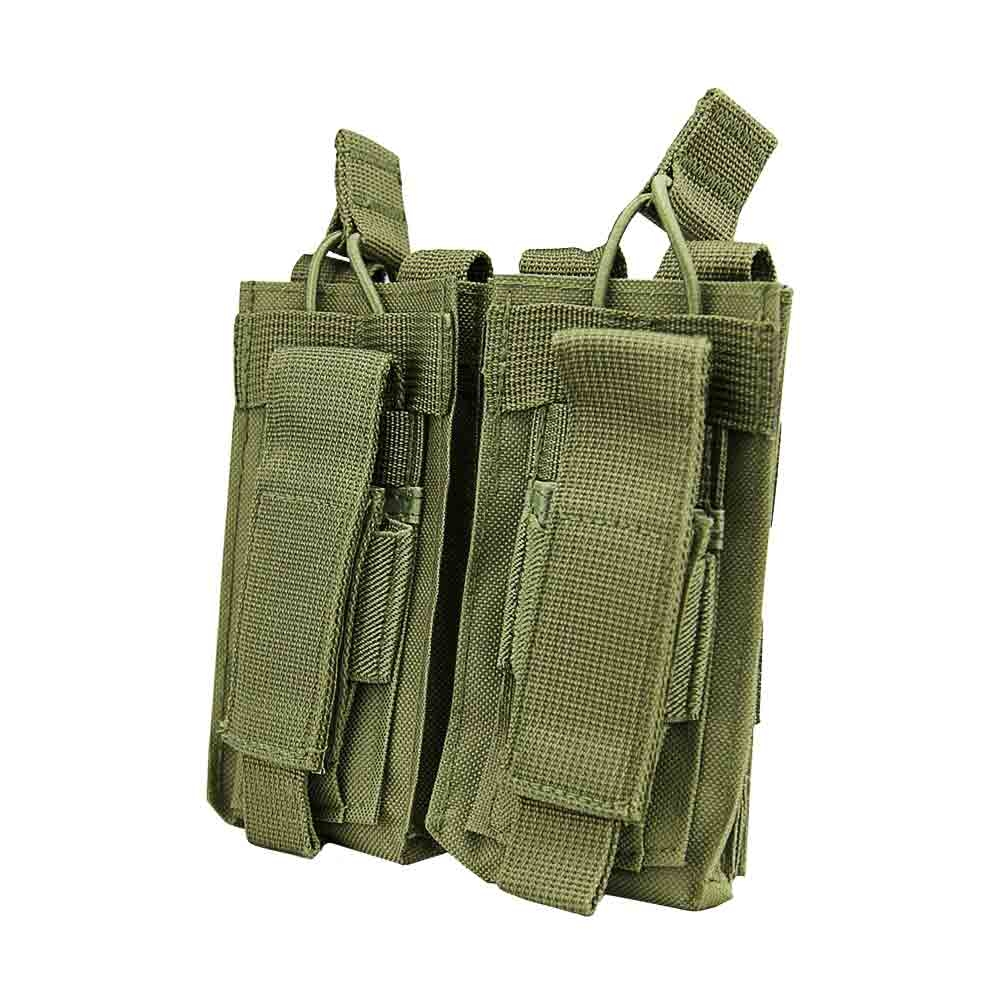 Double AR And Pistol Mag Pouch