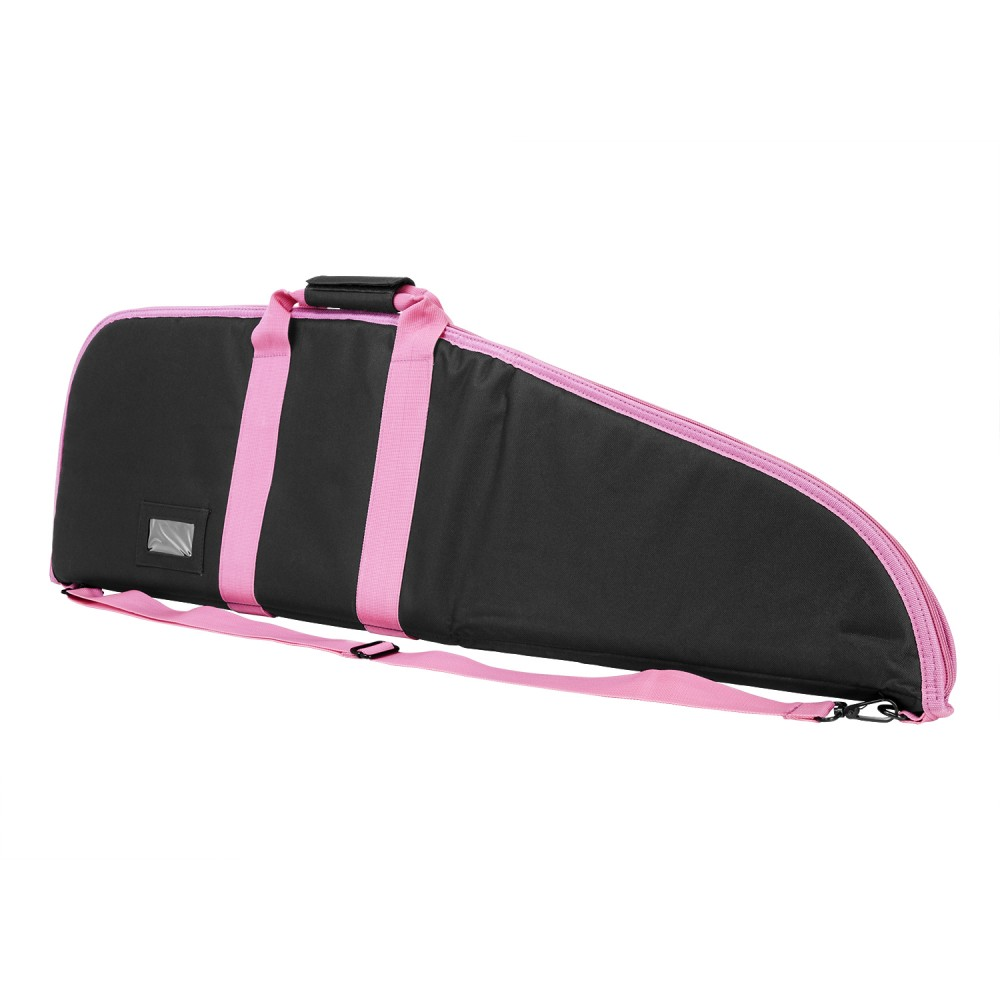Gun Case/36in/Blk/Pink Trim