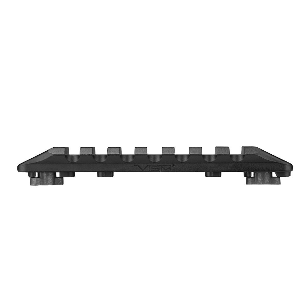 M-LOK KeyMod Acc Rail/Blk/Med