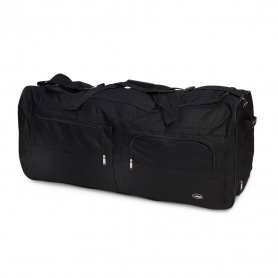 Life/form® Large Soft Carry Case for Full Body Simulators or Torso - Black (40 in x 17 in x 16 in)