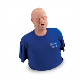 Simulaids Obese Mature Choking Manikin with Carry Bag
