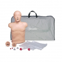 Simulaids Brad™ Adult CPR Manikin with Carry Bag and Kneeling Pads