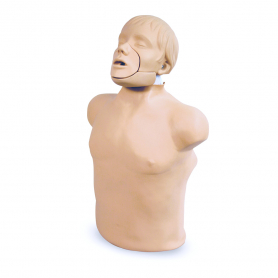 Simulaids® Jaw Thrust Brad™ CPR Manikin with Carry Bag and Kneeling Pads