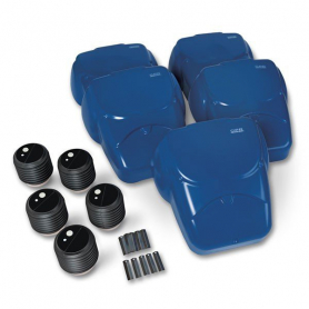Life/form® CPR Prompt® Compression Chest Manikins - Blue - 5 Pack