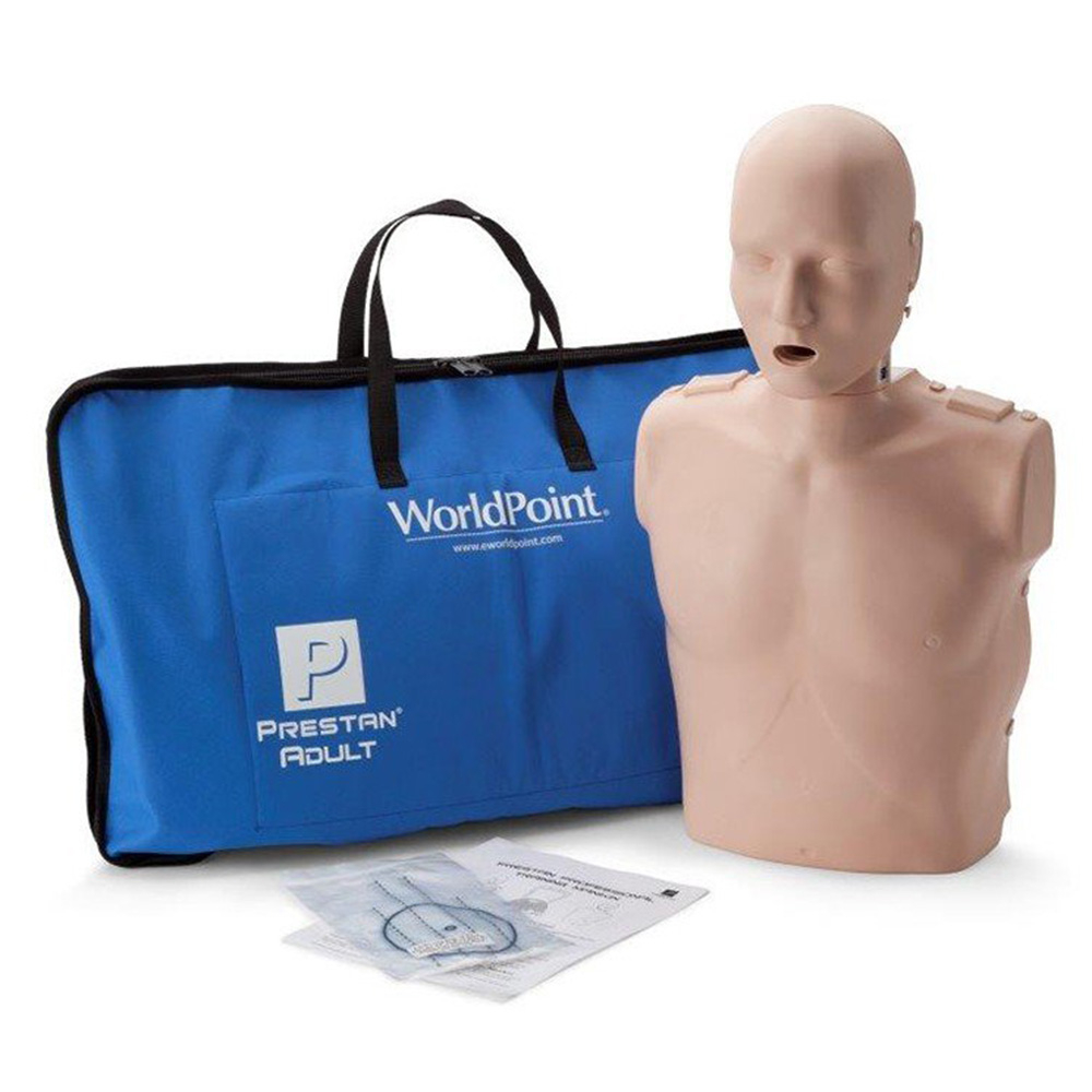 Prestan® Adult Jaw Thrust CPR Manikin Without Monitor