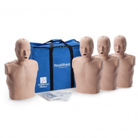 Prestan® Adult Manikin without CPR Monitor - Medium Skin - 4 Pack