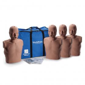 Prestan® Adult Manikin with CPR Monitor - Dark Skin - 4 Pack