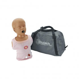 Simulaids Child Choking Manikin with Bag
