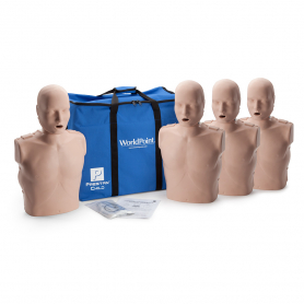 Prestan® Child Manikin without CPR Monitor - Medium Skin - 4 Pack
