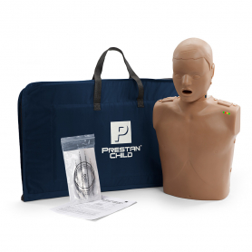 Prestan® Child Manikin with CPR Monitor - Dark Skin