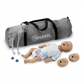 Simulaids Kim™ Newborn CPR Manikin with Carry Bag - Light Skin