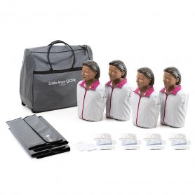 Laerdal® Little Anne® QCPR - Dark Skin - 4 Pack
