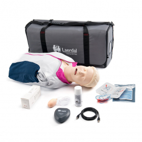 Laerdal® Resusci® Anne QCPR AED Airway Head Torso, Rechargeable