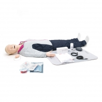 Laerdal® Resusci® Anne QCPR AED Airway Head Full Body, Rechargeable