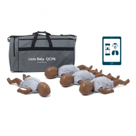 Laerdal® Little Baby QCPR - Dark Skin - 4 Pack