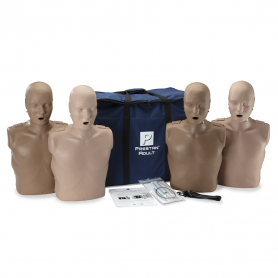Prestan® Professional Adult Diversity Kit CPR Training Manikins - 4 Pack