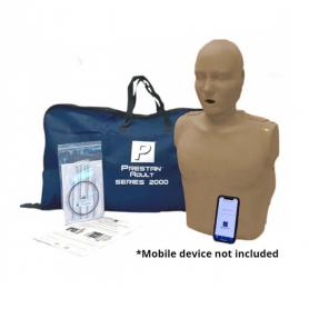 Prestan® Adult Series 2000 CPR Manikin - Dark Skin