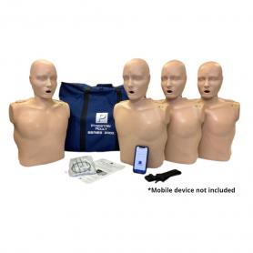 Prestan® Adult Series 2000 CPR Manikin - Light Skin - 4 Pack