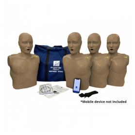 Prestan® Adult Series 2000 CPR Manikin - Dark Skin - 4 Pack