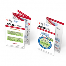AHA ACLS Pocket Reference Card Set