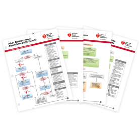 AHA ACLS Emergency Cart Cards