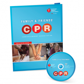 AHA Family & Friends® CPR DVD with Facilitator Guide